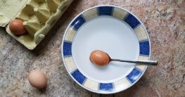 Eier abschrecken